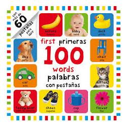 100 PRIMERAS PALABRAS CON PESTAÑAS