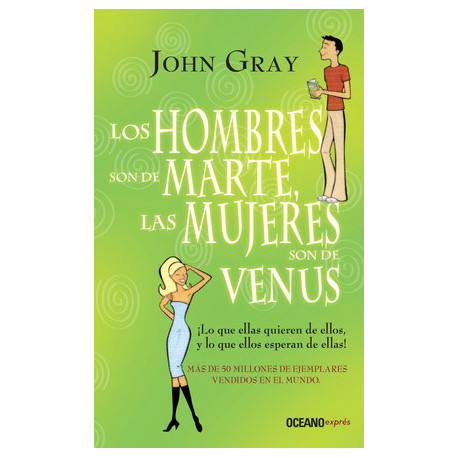 HOMBRES SON DE MARTE,MUJERES DE VENUS