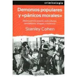 """DEMONIOS POPULARES Y  """"PANICOS MORALES"""""""