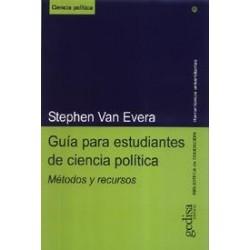 GUÍA PARA ESTUDIANTES DE CIENCIA POLÍTICA