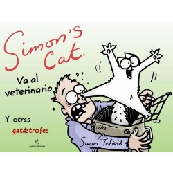 SIMON´S CAT VA AL VETERINARIO