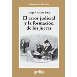 El error judicial y la formacion de los jueces
